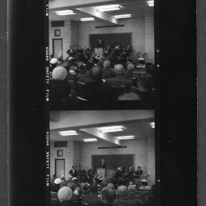 Mann Hall--Dedication; Carrol Mann, Jr., Civil Engineering Department