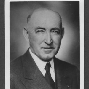 Professor Carroll Lamb Mann portrait