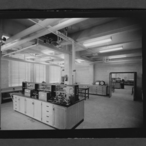 Labs and equipment in Broughton Building