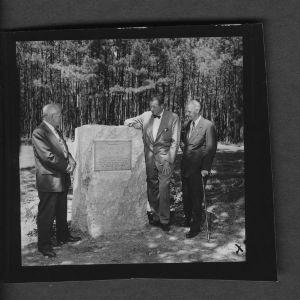 Forestry; Schenck Forest dedication