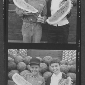 4-H Club Week: Watermelon Contest, Raleigh Farmers Market