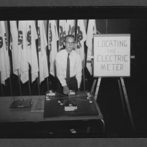 1957 4-H Club Week: Electric Demonstration Winner