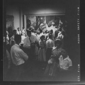 4-H Club Week 1957: Art Museum