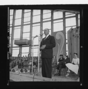 Dr. J.S. Dorton at Fair Opening