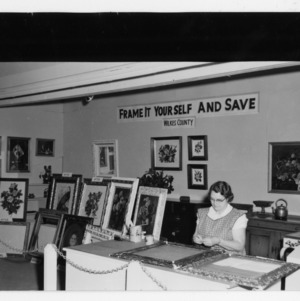 1957 State Fair Home Demonstration Booths
