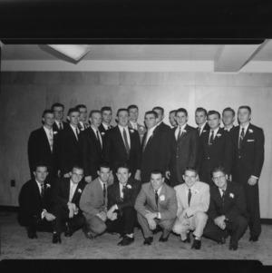 1957 Fall Pledges for the Kappa Phi Kappa Fraternity