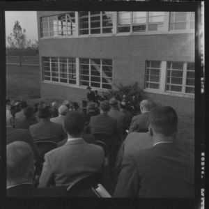 Forestry meeting and Dedication of Robertson Hall