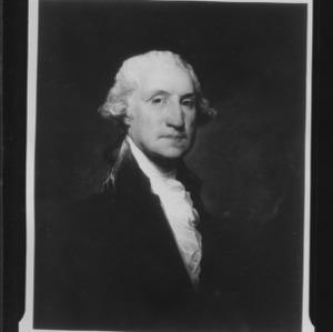 Portrait painting of George Washington
