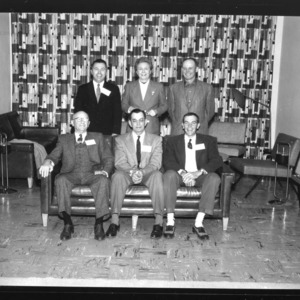 1958 Officers for North Carolina Nurserymens' Association
