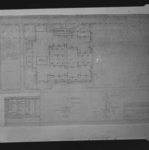 Planting plan for Northwest Elementary School, student drawing
