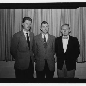 1958 Officers for the North Carolina Section of The American Society of Agricultural Engineers