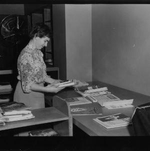 Library employee