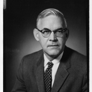 Dr. George A. Gullette portrait