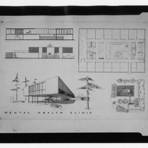 Mental Health Clinc architectural drawing