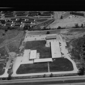 Aerial view of Agricultural Engineering facilities