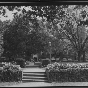 View of Holladay Hall from near Leazar