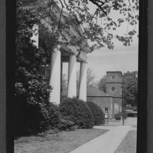Campus Scene: Pullen Hall and Primrose