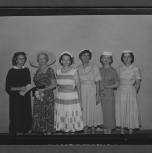 Farm and Home Week: Home Demonstration Association Officers for 1958-59