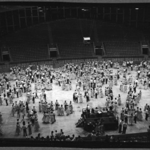4-H Club Week: Opening Session, 1958; State 4-H Week; State Fair Arena