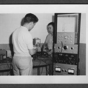 Peanut lab equipment