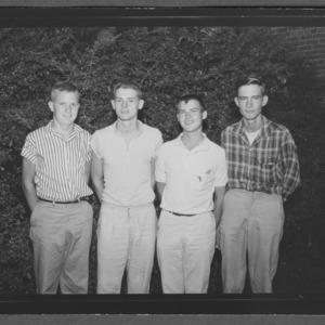1959 Dairy judging teams during 4-H Club Week