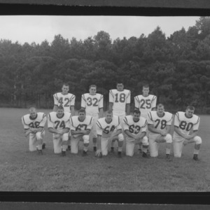 1959 Football Team, Starting Team
