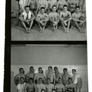 1960 Swimming Team