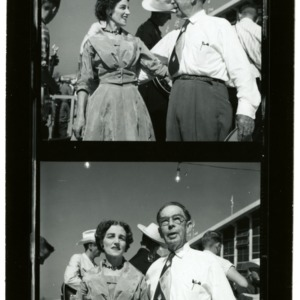 NC State Fair: Folk Festival; Mr. and Mrs. Boscom Lamar, Lumsford