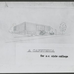 A Cafeteria for N.C. State College