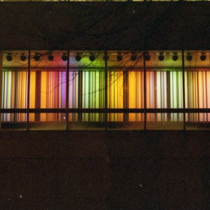 Color Wall by Joe Cox, D.H. Hill Library