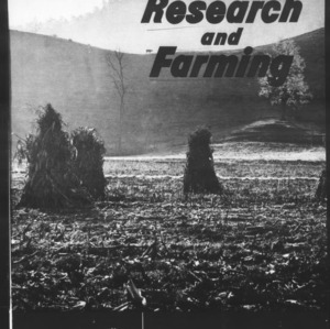 Research and Farming Vol. 22 No. 2