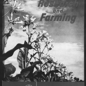 Research and Farming Vol. 23 No. 1