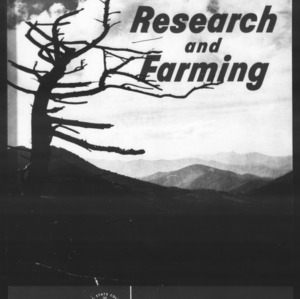 Research and Farming Vol. 19 (Nos. 3-4) [1 issue]