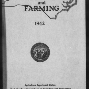 Agricultural Experiment Station Annual Report, 1941-1942
