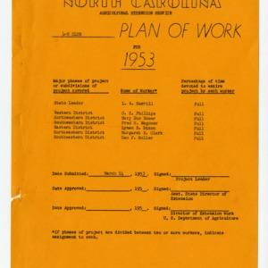 4-H Club Plan of Work