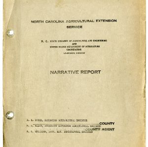 North Carolina Agricultural Extension Service Annual Report for 1935