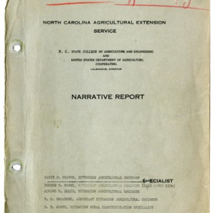 North Carolina Agricultural Extension Service Annual Report for 1936