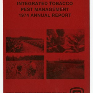 North Carolina Integrated Tobacco Pest Management 1974 Annual Report