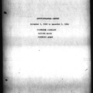 Administrators Report - Tidewater District