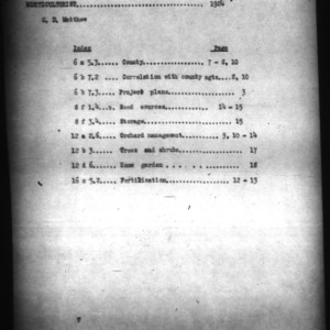 Report of Division of Horticulture, 1924