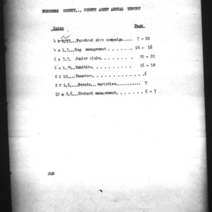 County Agent Annual Report, Buncombe County, 1924