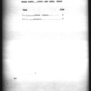 County Agent Annual Report, Chowan County, NC, 1924
