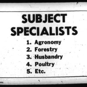 Agriculturist Report