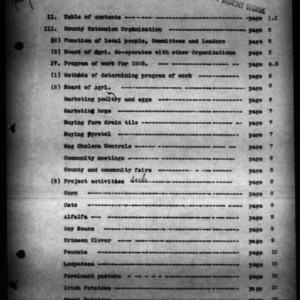 Annual Narrative Report of County Home Demonstration Work, Martin County, NC, 1925