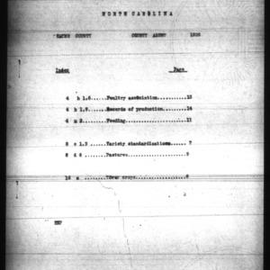 Annual Narrative Report of Farm Demonstration Work, Wayne County, NC, 1926