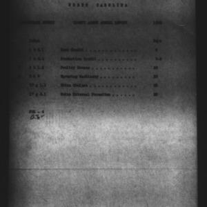 North Carolina County Agent Annual Narrative Report, Pasquotank County, NC