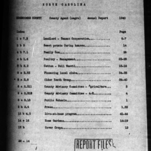 Annual Narrative Report of Edgecombe County, NC