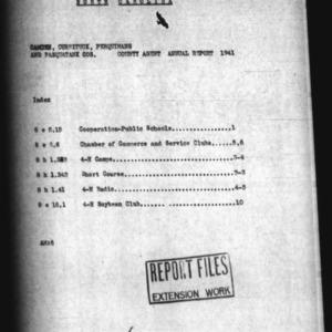 Annual Narrative Report of Camden, Currituck, Perquimans, and Pasquotank Counties