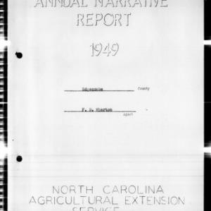 Annual Narrative Report, Edgecombe County, NC