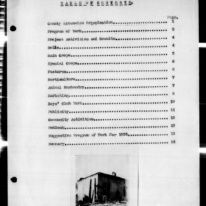 Annual Report of County Extension Work, Hertford County, NC